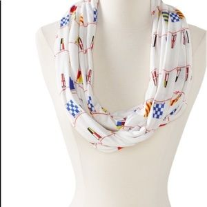 🌿Sperry Nautical Flags Infinity Scarf